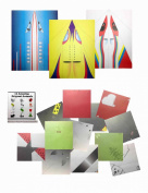 Paper Aeroplanes and Origami Animals Fine Motor Folding Bundle for Kids