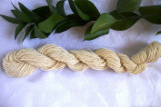 Muslin Cream White Cotton Crochet Thread Four Ply fingering Yarn