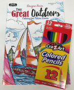 "Adult Colouring ""The Great Outdoors Colouring for Nature Lovers"""