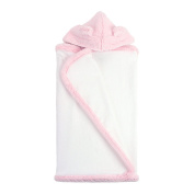 My Blankee Hooded Terry Luxe Towel, Pink, 70cm x 110cm
