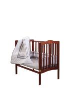 Baby Doll Soho Port-a-Crib Bedding Set, Grey