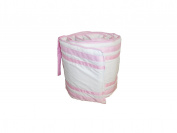 Baby Doll Soho Crib Bumper, Pink
