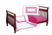 Baby Doll Soho Toddler Bedding Set, Red