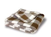 Babyluxe Organic Cotton Herringbone Blanket