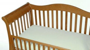 Snoozy Organic Crib Jersey Knit Sheet with Stay on Corners