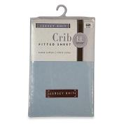 Bambino Basics Jersey Knit Crib Sheet in Light Blue