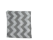 Baby Doll Chevron Fitted Sheet, Grey