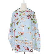 Nursing Cover for Breastfeeding - Breathable Combed Cotton Scarf