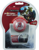 Avengers Projectable LED Night Light, Single Image Battery Operated