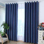 Oshide Solid Colour Window Curtains/drape/panels/treatment,Coffee/Grey/DarkBlue/Beige/WineRed