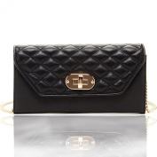 SUSU The Faye Leather Envelope Clutch Crossbody Wallet