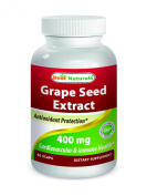 Best Naturals Grape Seed Extract 400 mg 120 Vcaps