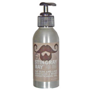 Caribean Bay Rum and Lime Beard and Moustache Conditioning Oil