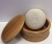 Men's Grooming Set with Wood Shaving Bowl & 97% All Natural Gbs Ocean Driftwood Shave Soap