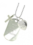 Army Wife Plated Military Gift Jewellery Dog Tag CX
