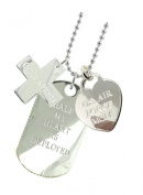 Air Force Mom Plated Military Gift Jewellery Dog Tag GS
