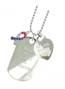 Air Force Wife Plated Military Gift Jewellery Dog Tag CR