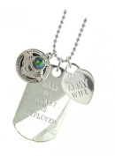 Army Wife Plated Military Gift Jewellery Dog Tag MF