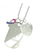 Air Force Girlfriend Plated Military Gift Jewellery Dog Tag CR