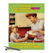 J0222 Jumbo Funny Mother's Day Card