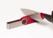 Farberware Flip Grip Sharpener, Red
