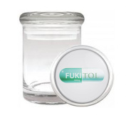 Fukitol Prescription Pill Funny Medical Odourless Glass Jar
