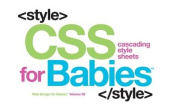 CSS for Babies (Code Babies) [Board book]