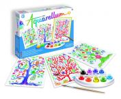 SentoSphere Aquarellum - Trees of Life - Arts and Crafts Watercolour Paint Set