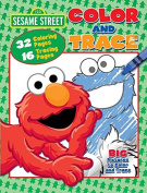 Sesame Street Colour and Trace Colouring Activity Book