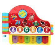 Arshiner Baby Kids Rhymes and Music Book with Light Educational Learning Toy