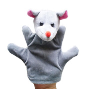 Baby Kids Education Toy, FTXJ Cute Baby Child Zoo Farm Animal Hand Glove Puppet Finger Sack Plush Toy Mouse