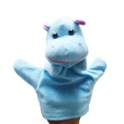 Baby Kids Education Toy, FTXJ Cute Baby Child Zoo Farm Animal Hand Glove Puppet Finger Sack Plush Toy Hippo