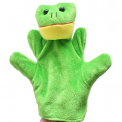 Baby Kids Education Toy, FTXJ Cute Baby Child Zoo Farm Animal Hand Glove Puppet Finger Sack Plush Toy Frog