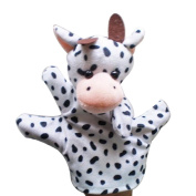 Baby Kids Education Toy, FTXJ Cute Baby Child Zoo Farm Animal Hand Glove Puppet Finger Sack Plush Toy Cow