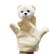 Baby Kids Education Toy, FTXJ Cute Baby Child Zoo Farm Animal Hand Glove Puppet Finger Sack Plush Toy Bear