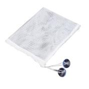 NOQ Toy storage bag/Bathroom hanging bag/White