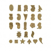 Walnut Hollow Hotstamps Number And Symbol Set 24 Piece by Walnut Hollow