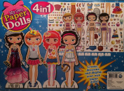 My Own Paper Dolls 4 in 1
