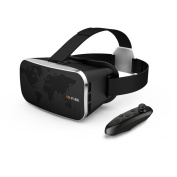 Senders Headset 3D III VR Glasses Virtual Reality Video Glasses Box for 10cm - 15cm Smartphones with Bluetooth Gaming Controller