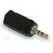 3.5mm Stereo TRS Jack (Female) to 2.5mm Stereo TRS Plug (Male) adapter