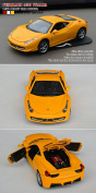 Tianmei Ferrari 458 Italia Supercar Styling 1:32 Alloy Diecast Car Models Collection kids Toys Decoration Ornaments Light & Sound