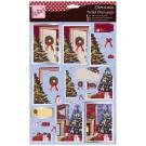 Foiled Sheet - Christmas Tree
