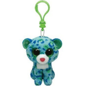 "Beanie Boos Clip - Leona The Leopard - 3""/8cm - Plush by Ty Inc."