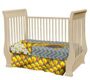 Crib Nursery Bedding Set Woodland Creatures - Adorable 3 Piece Crib Bedding Set Made from Soft Durable Microfiber