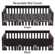Sweet Jojo Designs Madison Long Front Rail Guard Baby Teething Cover Crib Protector Wrap