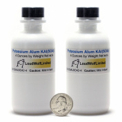 Potassium Alum / Fine Crystals / 240mls / 99.7% Pure / Food Grade.