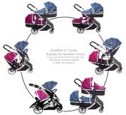 Kids Kargo Duellette 21 Combi Travel System Pram Double Pushchair
