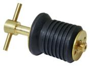Attwood Brass Handle T-Handle Drain Plug