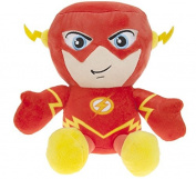 """DC COMICS - Plush Toy character """"The Flash"""" of the movie and TV cartoons """"THE FLASH""""(sitting 9""""/23cm) - Qualità super soft"""