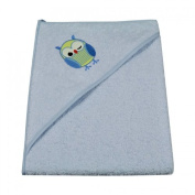 Asmi Hooded Towel - Baby Bath Towel - Owl Available in 6 Colours - 100 x 100 cm